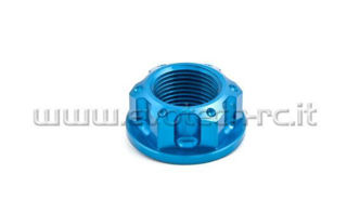 Picture of Evotech SRL Aluminum Rear Axle Nut, Blue For RS660 & Tuono 660