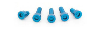 Picture of Evotech SRL Aluminum Anodized Bolt Kit for Stock Gas Cap, RS660 & Tuono 660