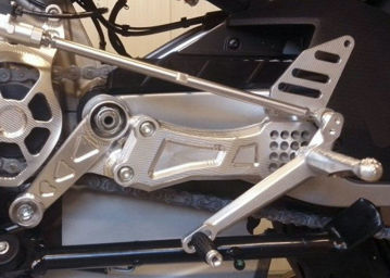 Picture of Flyhammer Italy Billet Aluminum Road Shift Rearsets for RS660