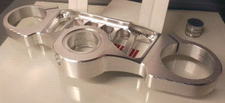 Picture of FlyHammer Billet Aluminum Top Clamp For RS660