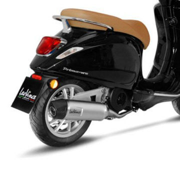 Picture of Leo Vince Exhaust For Vespa Primavera & Sprint 150, Stainless Steel