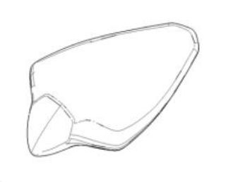 Picture of OEM Aprilia Rear Saddle - 2B006993000C1