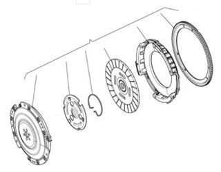 Picture of OEM Moto Guzzi Clutch Assembly - 2A000107 (ex976023)