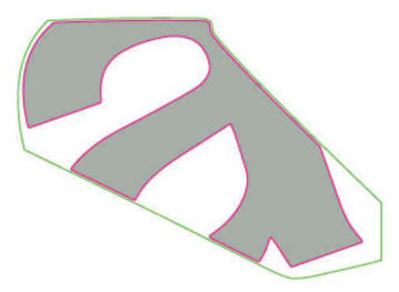 """Picture of OEM Aprilia LH External Wing Decal """"A"""" - 2H004202"""