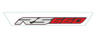 Picture of OEM Aprilia LH Mid Fairing Decal 'RS660' - 2H003993