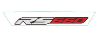 Picture of OEM Aprilia RH Mid Fairing Decal 'RS660' - 2H003992