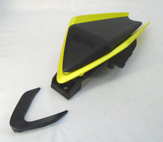 Picture of OEM Aprilia Accessory 660 Rear Seat Cowl, Acid Gold - CM325203