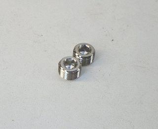 Picture of Titanium ABS Brick Block Plug, 2 Pack M10x1.0 - TN-TIPINGRUB-2