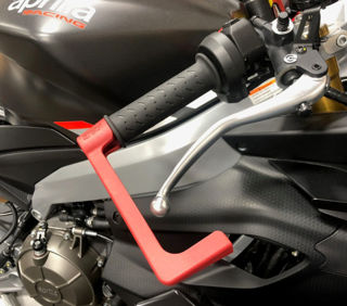 Picture of R&G Racing Brake Lever Guard, Red for '21 RS660