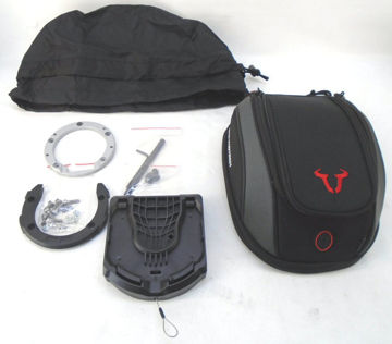 Picture of SW Motech 3-5 Liter Tank Bag For Quick Lock - Complete Kit *CLOSEOUT*