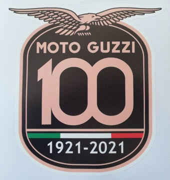 Picture of Moto Guzzi Centenario 100th Anniversary Front Fender Decal - 2H004121 Sold Each