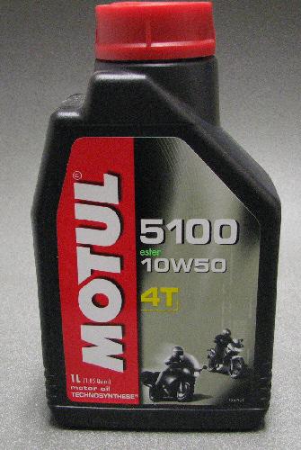 Motul 5100 Semi Synthetic Motor Oil 10W50 1 Liter