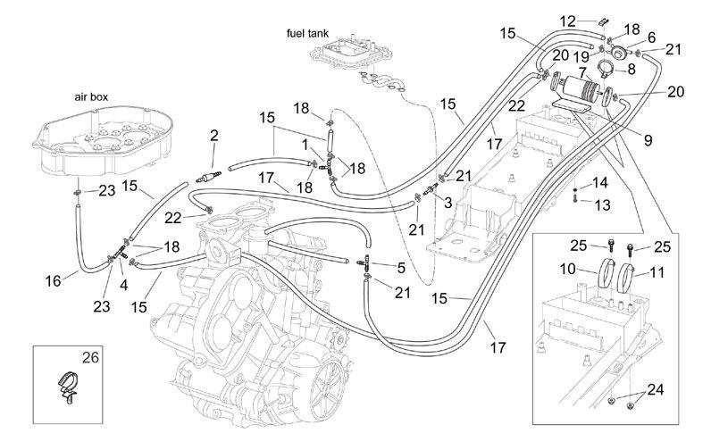 ProdList on 150cc Carburetor Hose Vacuum Line Diagram