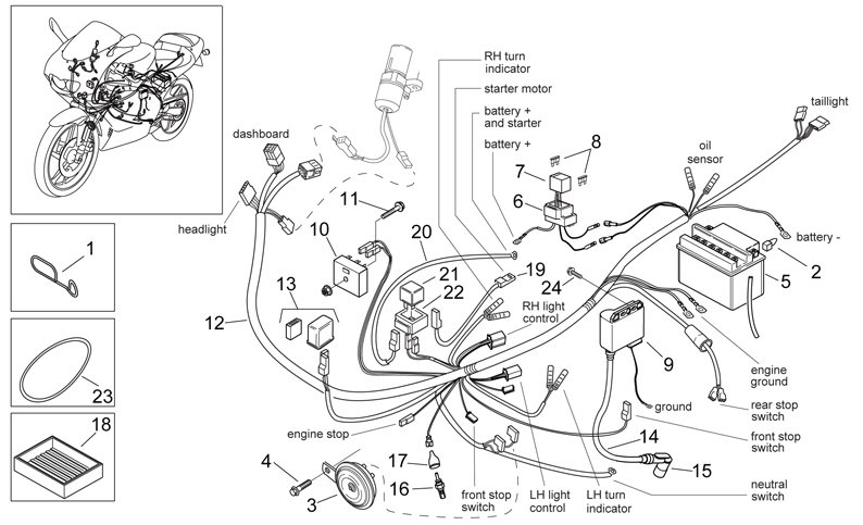 ProdList on 50cc Scooter Engine Diagram