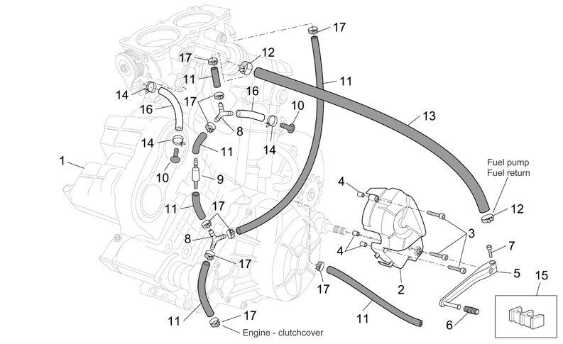 2004-2007 etv caponord engine diagram