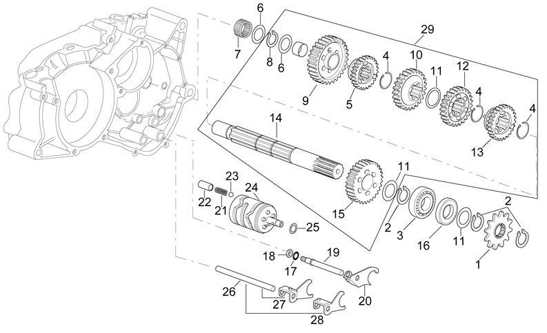 aprilia engine diagrams example electrical wiring diagram u2022 rh cranejapan co