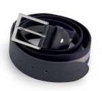 Vespa Accessories Belt, Blue/Grey -605611M0BG