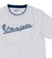 Vespa Men's T-Shirt Original White S - 605714M02W