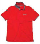 Vespa Men's Polo Original Red Small - 605722M02R