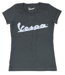 OEM Vespa Ladies T-Shirt Deep Green XL -606053M06V