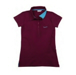Vespa Women's Polo Burgundy S -606232M01X