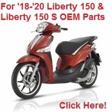 af1 racing : aprilia parts and accessories: liberty 150 & liberty