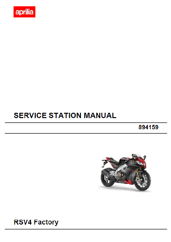 oem aprilia service manual rsv4 factory aprc abs