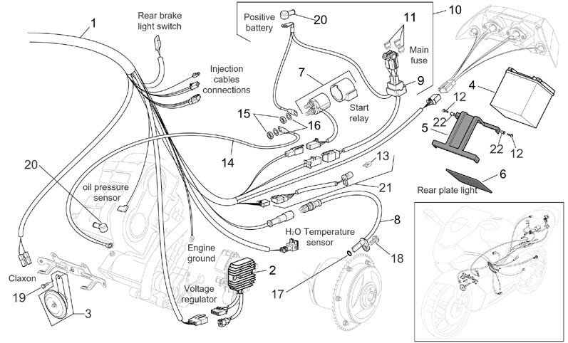 2001 vespa wiring diagram